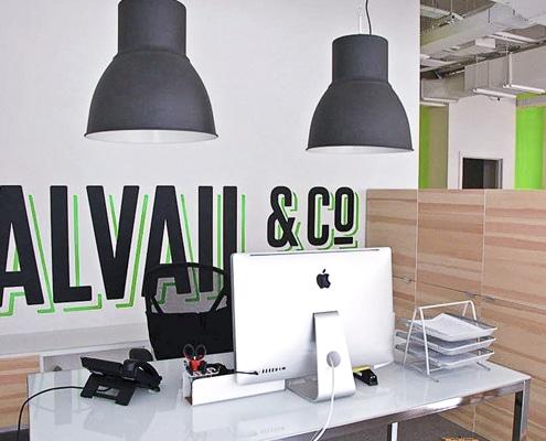 Décoration et agencement d'open space, de bureaux et sièges sociaux.