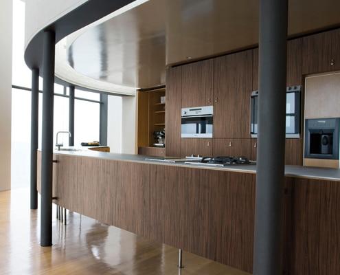 Rénovation de comptoir et de mobilier avec le film adhésif architectural Di-Noc de 3M.