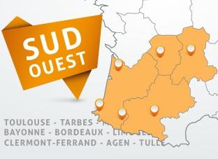 Nous intervenons à Toulouse, Clermont Ferrand, Toulouse et tout le sud ouest pour assurer la pose de votre communication visuelle.